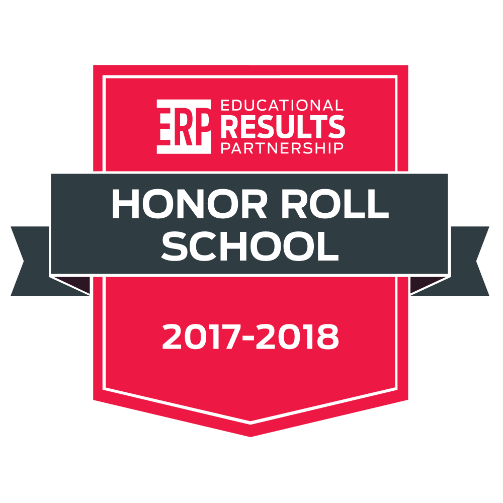 ERP Honor Roll School 2017-2018